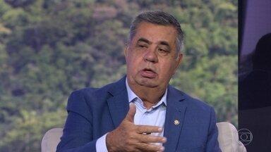 Presidente da Alerj diz que Estado está sem governador - Jorge Picciani, do PMDB, defendeu a extinção de 16 das 23 secretarias.