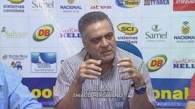 Nacional apresenta novo técnico - Técnico tem experiência em times grandes.