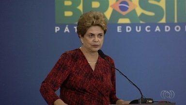 Dilma inaugura novo terminal do aeroporto de Goiânia - Capacidade será de 6 milhões de passageiros por ano. Entretanto, funcionamento só deve começar no fim do mês. Gastos chegaram a quase R$ 500 milhões.