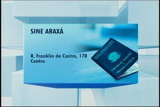 Sine de Araxá oferece novas vagas de emprego - A unidade oferece vaga para costureira com salário de R$ 1.200.