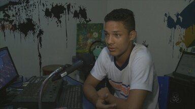 Projeto 'Rádio Falante' completa 6 anos em Porto Velho - Alunos que participam do projeto melhoram o desempenho na escola Orlando Freire.