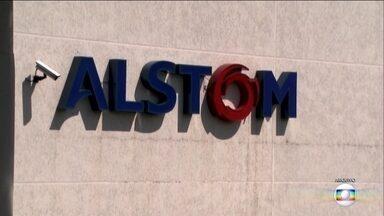 Alstom deposita R$ 62 milhões na conta do governo do Estado - O dinheiro é resultado de um acordo que a empresa fez pra se livrar da acusação de superfaturamento na venda de uma subestação de energia para o metrô.