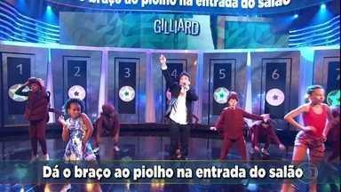 Cissa Guimarães pontua ao acertar 'A Pulga e O Percevejo' - Gilliard relembra os sucessos de sua carreira
