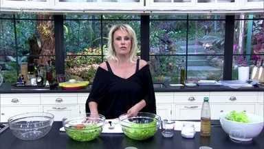 Aprenda a lavar corretamente frutas, legumes e verduras - Ana Maria Braga fala sobre as diferenças na higienização utilizando vinagre, bicarbonato de sódio e hipoclorito de sódio