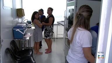 Vacinação contra H1N1 termina nesta sexta-feira (20) - Milhares de pessoas já se vacinaram contra gripe e agora os agentes vão visitar os abrigos.
