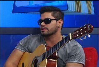 Rafael Alencar se apresenta no CETV antes de show - Rafael Alencar se apresenta no CETV antes de show