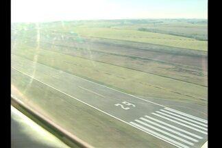 Reinauguração do aeroporto de Santo Ângelo, RS - Vai ser no domingo com shows e voos panorâmicos.
