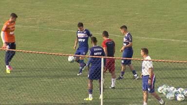 Bahia se prepara para enfrentar o Paraná neste sábado (21) - Partida é válida pela série B do Campeonato Brasileiro e será realizada em Curitiba. Veja como foi o treino do tricolor na manhã desta sexta (20).
