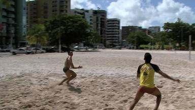Atletas de futevôlei ganham destaque em Alagoas - Anderson Catuense, vice-presidente da Federação Alagoana de Futvôlei fala sobre o crescimento do esporte.