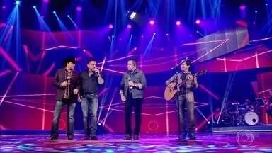 'Sinônimo' agita o Caldeirão nas vozes de Chitãozinho & Xororó e Bruno & Marrone - Mais um grande sucesso na voz do quarteto