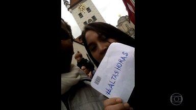 Veja as mensagens dos fãs no #AltasHoras - Internautas mandam vídeos para o programa dos lugares mais inusitados