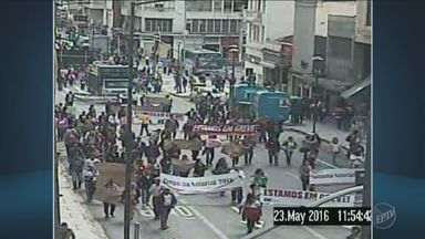 Servidores públicos iniciam greve em Campinas - Eles pedem reajuste salarial de 23%.