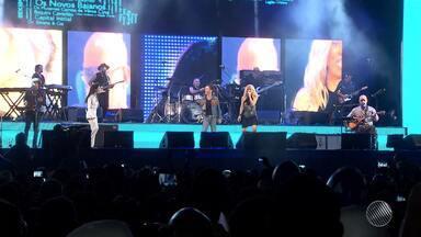 Grandes nomes do pop e do rock brasileiro se apresentam em show gratuito em Salvador - Nando Reis, Paula Toller, Os Paralamas do Sucesso e Marjorie Estiano fizeram a festa; veja como foi.