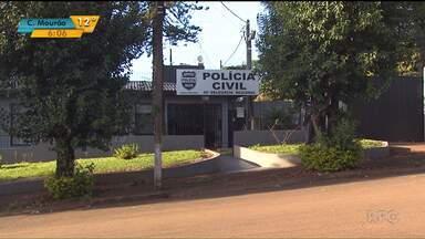 Dois presos que fugiram da delegacia de Corbélia se entregam à polícia - Eles renderam agente e fugiram com armas e viatura