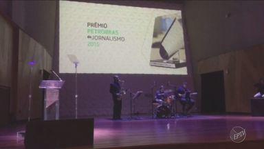 EPTV ganha prêmio nacional Petrobras por melhor reportagem - Série mostrou setor de petróleo e gás e o aumento da conta de luz.