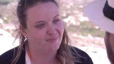 Nicole revela que abuso sexual contribuiu para o seu aumento de peso - A participante do 'Você Mais Poderosa' abre o coração para Beto Carramanhos