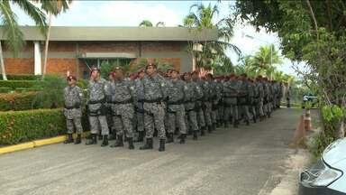 Força Nacional começa a atuar contra ataques em pontos estratégicos da capital - Agentes chegaram nesta terça-feira (24) em São Luís.