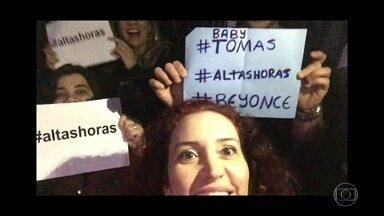 Veja as mensagens dos fãs no #Altas Horas - Internautas mandam vídeos dos lugares mais inusitados