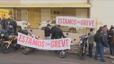 Trabalhadores dos chamados 'transporte de valores' entram em greve em SC - Trabalhadores dos chamados 'transporte de valores' entram em greve em SC