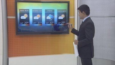 Confira a previsão do tempo para esta terça-feira (31) - Veja como será o tempo em Rondônia.