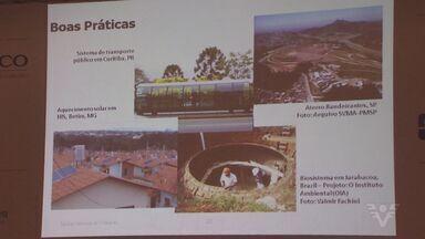 Fórum 'Região em Pauta' fala sobre sustentabilidade - Discussões passaram por poluição, descarte de lixo e construção civil.