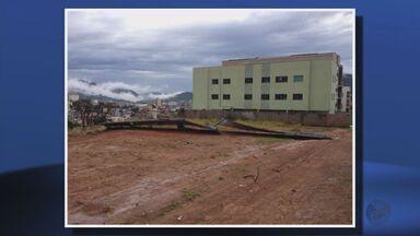 Chuva deixa estragos e causa transtornos em cidades do Sul de Minas - Chuva deixa estragos e causa transtornos em cidades do Sul de Minas