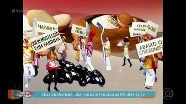 Relembre a abertura da novela 'Feijão Maravilha' - Telespectadora pede para rever uma das mais famosas aberturas da TV