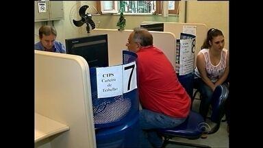 A confecção de carteiras de trabalho está paralisada em Pelotas - O serviço só deve ser retomado em junho.