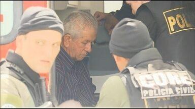 Prefeito de Catende é preso durante operação da Polícia Civil - Otacílio Cordeiro foi trazido ao Recife. Após ser preso, passou mal e precisou receber atendimento