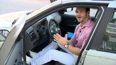 Alinhado: fisioterapeuta do ES dá dicas de como sentar corretamente ao dirigir - Pilon responde dúvida de capixaba.