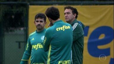 Fora de casa? Palmeiras enfrenta o Grêmio no Pacaembu, nesta quinta, pelo Brasileirão - Fora de casa? Palmeiras enfrenta o Grêmio no Pacaembu, nesta quinta, pelo Brasileirão