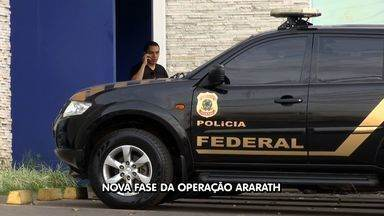 Polícia Federal realiza a 11ª fase da Operação Ararath em Cuiabá - Polícia Federal realiza a 11ª fase da Operação Ararath em Cuiabá