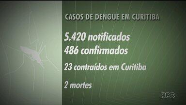 Prefeitura de Curitiba apresenta um balanço do combate ao mosquito da dengue - De acordo com a prefeitura, o número de focos do mosquito na cidade tem diminuído
