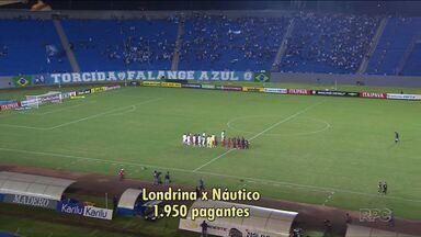 Frio? Chuva? Crise? Veja por que o Londrina tem atraído um púbico pequeno na Série B - Jogos no Estádio do Café não conseguiram atrair público maior que 2 mil pessoas.