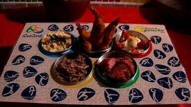 Aprenda a fazer um 'prato olímpico' que vale medalha de ouro - Veja e outras receitas do NE Rural em http://g1.globo.com/ceara/ne-rural/videos/