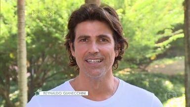 Reynaldo Gianecchini relembra viagem em 2009 no 'Estrelas' - Programa comemora 10 anos com memórias de viagens inesquecíveis