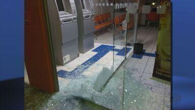 Criminosos explodem caixas eletrônicos em Turvolândia (MG) - Criminosos explodem caixas eletrônicos em Turvolândia (MG)