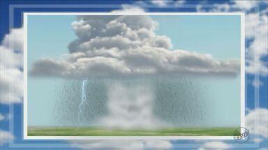 Moradores de Campinas, SP, passaram o dia tentando entender o fenômeno das microexplosões - Foram 40 minutos de tempestade na madrugada de domingo (5).