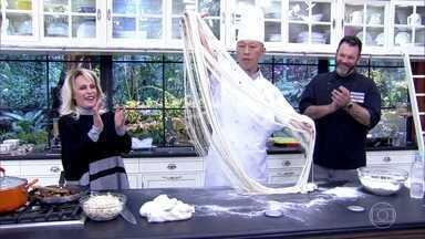 Lamen - O chef Yang ensina a fazer a massa do típico macarrão chinês