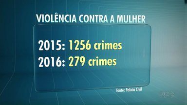 Treze mulheres são mortas por dia no Brasil - Delegada assume delegacia da mulher em Paranavaí. O objetivo é melhorar o atendimento às vítimas de violência.