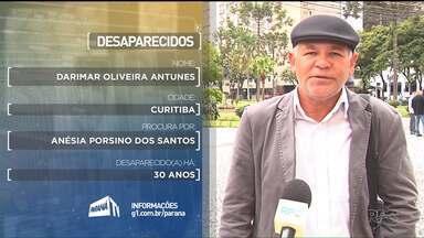 Desaparecidos 30 de maio - Confira os depoimentos gravados no dia 30 de maio, na Praça Santos Andrade