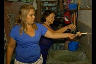 Moradores da Terra Firme denunciam falta de água - Casas estão há três dias sem abastecimento de água.
