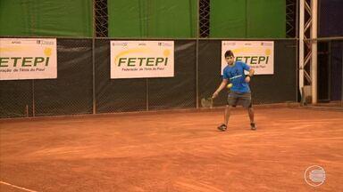 Segunda etapa do piauiense de tênis começou e vai movimentar Teresina até o fim de semana - Segunda etapa do piauiense de tênis começou e vai movimentar Teresina até o fim de semana