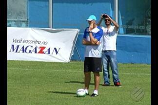 Dal Pozzo quer foco total na partida contra o Avaí - Dal Pozzo quer foco total na partida contra o Avaí