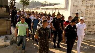 Enterrado PM assassinado na Zona Norte - Um dos suspeitos pelo crime foi preso nesta terça-feira.