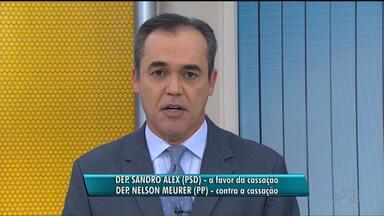 Deputados paranaenses participaram da votação no Conselho de Ética da Câmara - Saiba como votaram os deputados Sandro Alex e Nelson Meurer