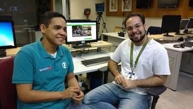 Repórteres comentam vitória do Ceará sobre o Brasil-RS - Confira com Caio Ricard e Juscelino Filho