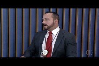 Delegado de Campos, RJ, fala sobre a reconstituição do crime de Patrícia Manhães - Delegado de Campos, RJ, fala sobre a reconstituição do crime de Patrícia Manhães.