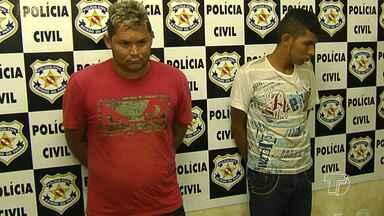 Polícia prende suspeitos de praticar assaltos em Santarém - Entre os integrante das quadrilha está um menor de 16 anos, que foi apreendido por roubar a uma loja.