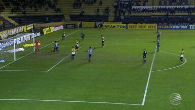 Bahia sofre 'apagão' e perde para o Criciúma - O adversário venceu o tricolor baiano de virada; placar da partida foi 3 a 2.